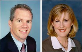 Sen. Geoff Michel and Rep. Melissa Hortman