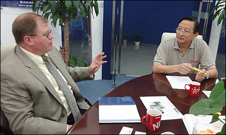 Dave Anderson and Harry Xiao