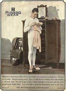 Vintage Munsingwear ad