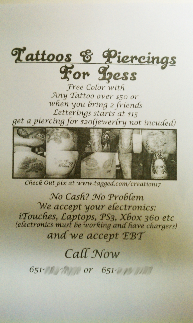The flier that kicked off KSTP's investigation