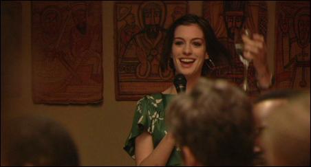 "Anne Hathaway in ""Rachel Getting Married."""