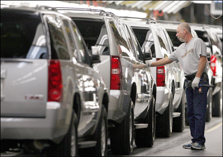Auto workers looking at bleak future.