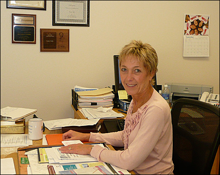 Sandy Tubbs is working on efforts to combine public health services for five western Minnesota counties.