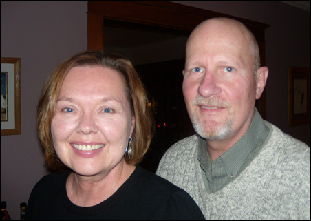 <strong>Patricia Berg and Tom Hultberg</strong>