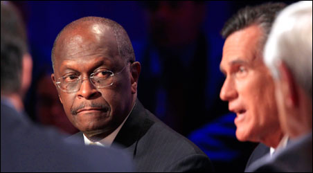 Herman Cain hopes to be something more than the latest flavor-of-the-month righty challenger to Mitt Romney.