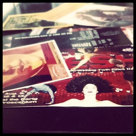 Fringe postcards: the deluge begins