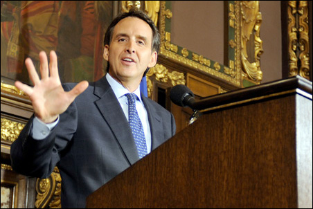 Lame-duck governor Tim Pawlenty.