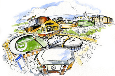 New Gophers' stadium and Target Field raise a big question: Is Minnesota's sports industry sustainable?