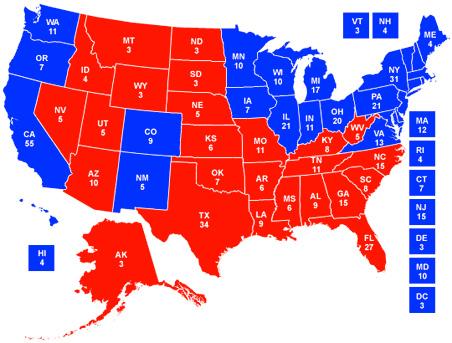 Electoral College Watch I: Obama 317, McCain 221 | MinnPost