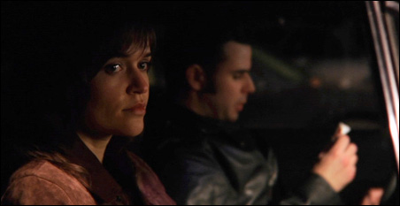 "Sara Richardson and Chris Cummings in ""Rough Tender."""