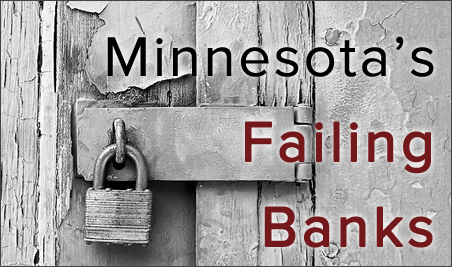 Minnesota banks on watch list still at record high, even as fewer banks fail