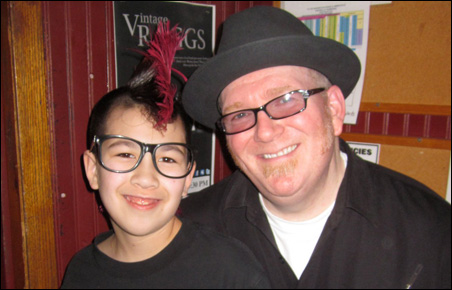 Jude and Buck Hazlett in a March 2011 photo.
