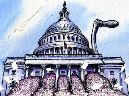 Legislative sausage-making: How a bill does not become a law