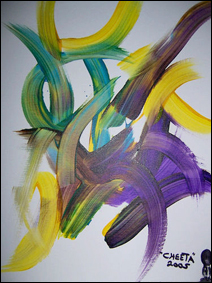 Untitled abstract by Cheeta