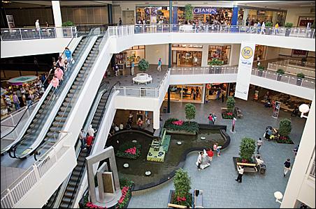 The Mall of America's North Garden.