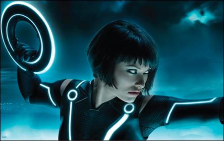 "Olivia Wilde in ""Tron: Legacy"""