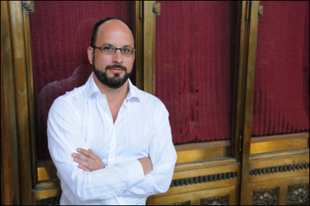 Ben Johnson, new director of concerts and lectures at the U.