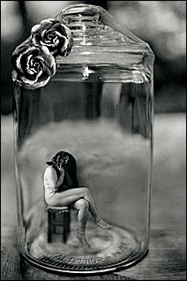 "Goodman's ""Desire and Fantasy – Women in Jars Series."""