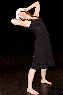 "Lisa Conlin will perform in ""Renovate,"" the dance showcase she started."