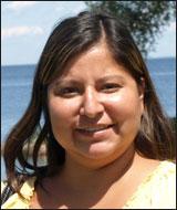 Carla Big Bear at Mille Lacs Lake