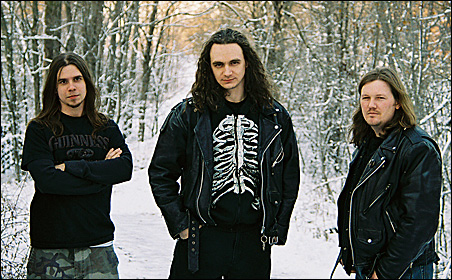 Members of Jagged Spiral, from left: Josh, Colin and Zero.