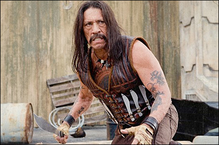 Danny Trejo stars as Machete, an ex-Federale who launches a brutal rampage of revenge against his former boss.