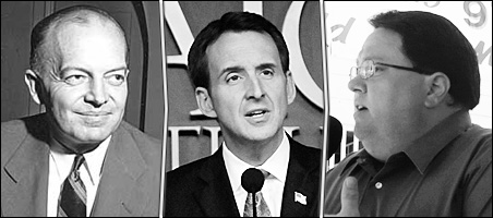 Left to right: Harold Stassen, Tim Pawlenty and Tony Sutton