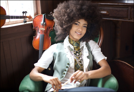 Esperanza Spalding's Chamber Music Society will perform at the O'Shaughnessy in St. Paul on Tuesday, Oct. 4.