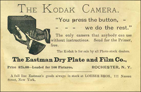 More than a century ago, Kodak was a company as revolutionary as Apple is today, in its technology as well as its marketing.