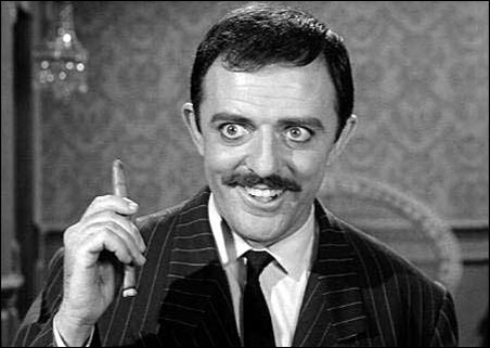 """John Astin in """"The Addams Family."""" A Minnesotan? Yes, if we say so, he is."""