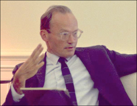 McGeorge Bundy at a meeting in the Oval Office in 1967.