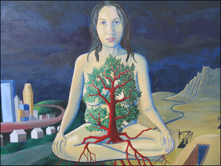"""""""Self-Portrait: The Earth is My Home"""""""