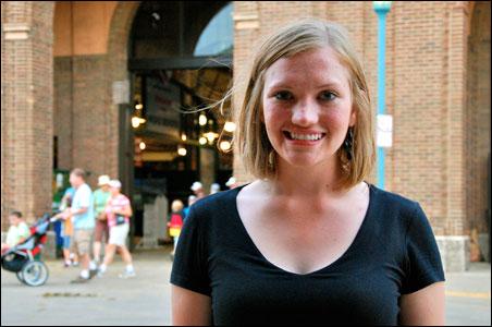 Elizabeth Olson of Hutchinson, Minn.