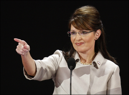 """This statement from Sarah Palin is riling organizers: """"I guess a small-town mayor is sort of like a 'community organizer,' except that you have actual responsibilities."""""""