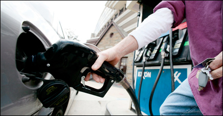 A $10 a barrel difference in oil would spike up gas prices about 25 cents a gallon.