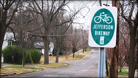 Bike activists say Jefferson Avenue is a perfect route to connect with other bikeways.