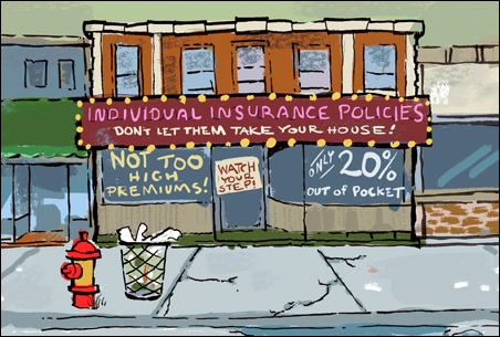 Individual policies: the subbasement of health insurance