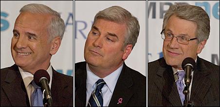 Mark Dayton, Tom Emmer, Tom Horner