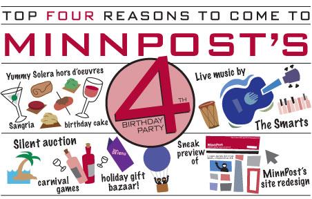 MinnPost's Fourth Birthday Party