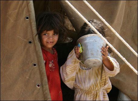 Shi'ite refugee camp