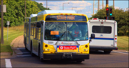 Urban local routes — the heart of Metro Transit's all-day service — increased 4.3 percent, or 1.8 million rides to 43.8 million.