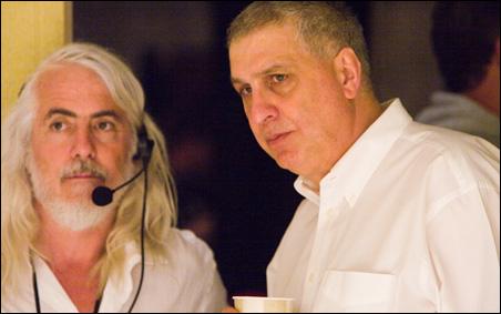 Cinematographer Robert Richardson and director Errol Morris