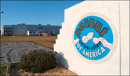 The Peanut Corp. of America plant in Blakely, Ga. -- the source of the salmonella outbreak -- has been shut down.