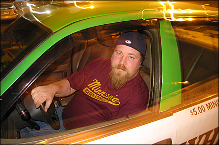 "Cabbie Nick Seversen: ""It seems like everybody's broke."""