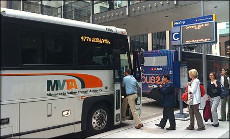 The Minnesota Valley Transit Authority offers a transit experience to match the incomes and expectations of their higher-end customers.