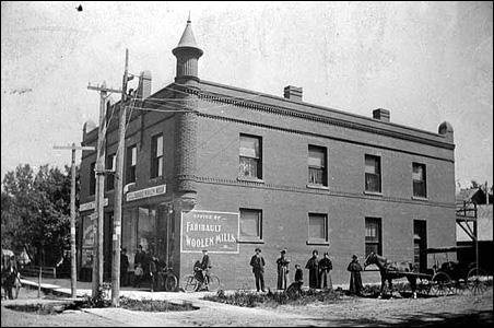 The office of Faribault Woolen Mills ca. 1897