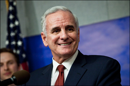 Gov.-elect Mark Dayton said he's ready to get to work for Minnesotans.