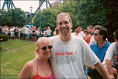 Anna and Judge Getchell enjoyed going on roller-coaster rides together. Judge proposed to her on the 100th coaster they rode.