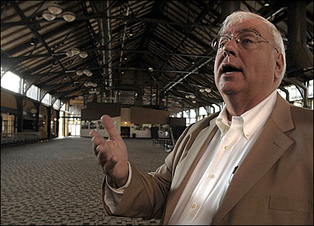 Paul Ridgeway, party planner extraordinaire, will transform the Minneapolis Depot into an agriculture showcase for the big AgNite party during the GOP convention.