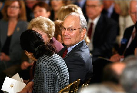 Sen. Larry Craig attends a White House gathering last November.